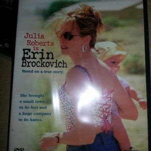 Julia Roberts is Erin Brockovich DVD new